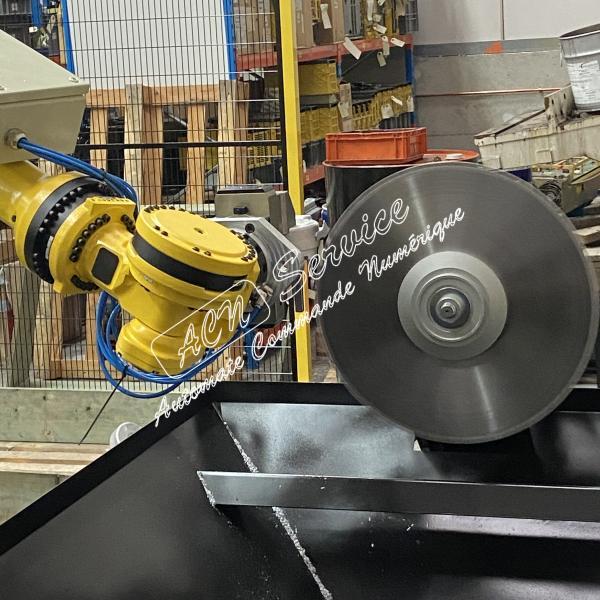 robot de sciage